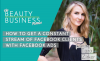 How to Get a Constant Stream of Clients with Facebook Ads image