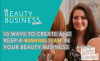 episode 36 10 Ways to Create and Keep A Winning Team in Your Beauty Business image